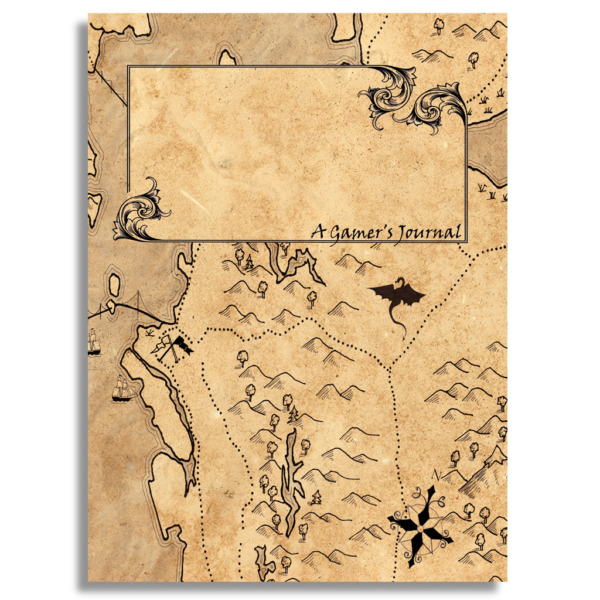 A Gamer's Journal - 100 pages