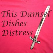Damsel Dishes Distress [Closeup]