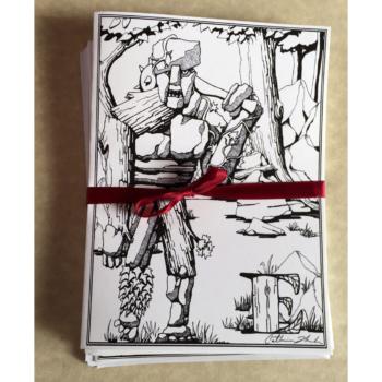 Earth Elemental Greeting Card Set