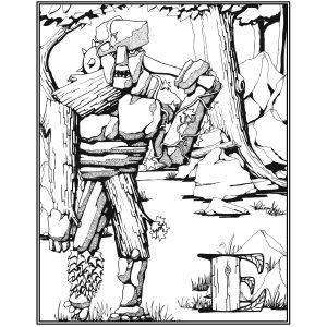 Earth Elemental Poster