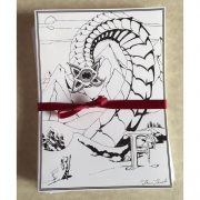 Frost Worm Greeting Card Set