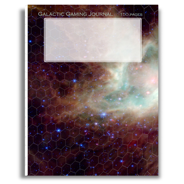 150 page Galactic Gaming Journal