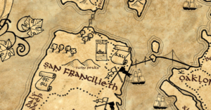 fantasy maps LOTR style