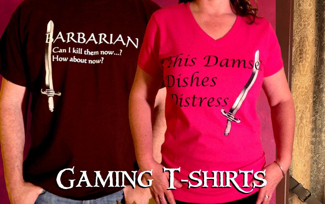Gaming shirts