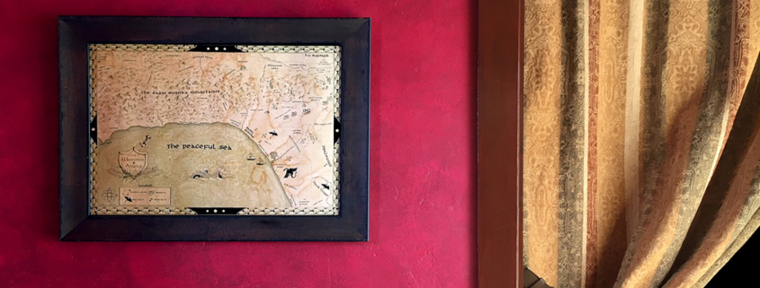 Fantasy Maps in LOTR Style