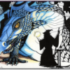 Dragon cards or poster